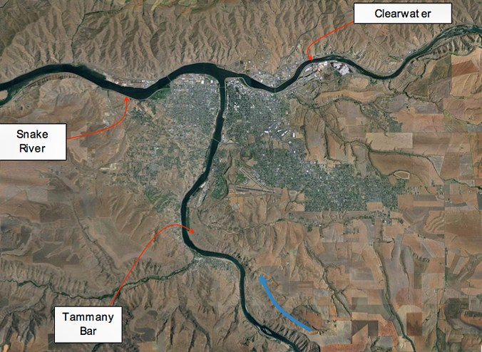 Tammany Bar, Bonneville Flood, Missioula Flood, San Bar, Scale Invariance, Geology , Lewiston, Idaho, Snake, Clarkston, Washington, River, Hell's Canyon
