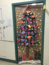 Homeroom Christmas Door Decorating Competition