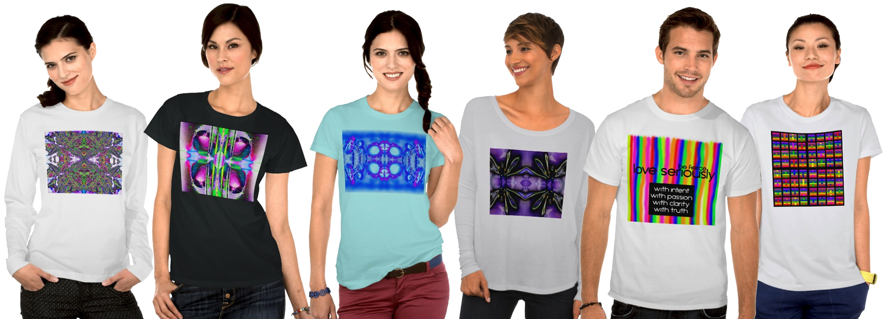 Psychedelic abstract visionary chakra i ching and meditation art tee shirt designs created by