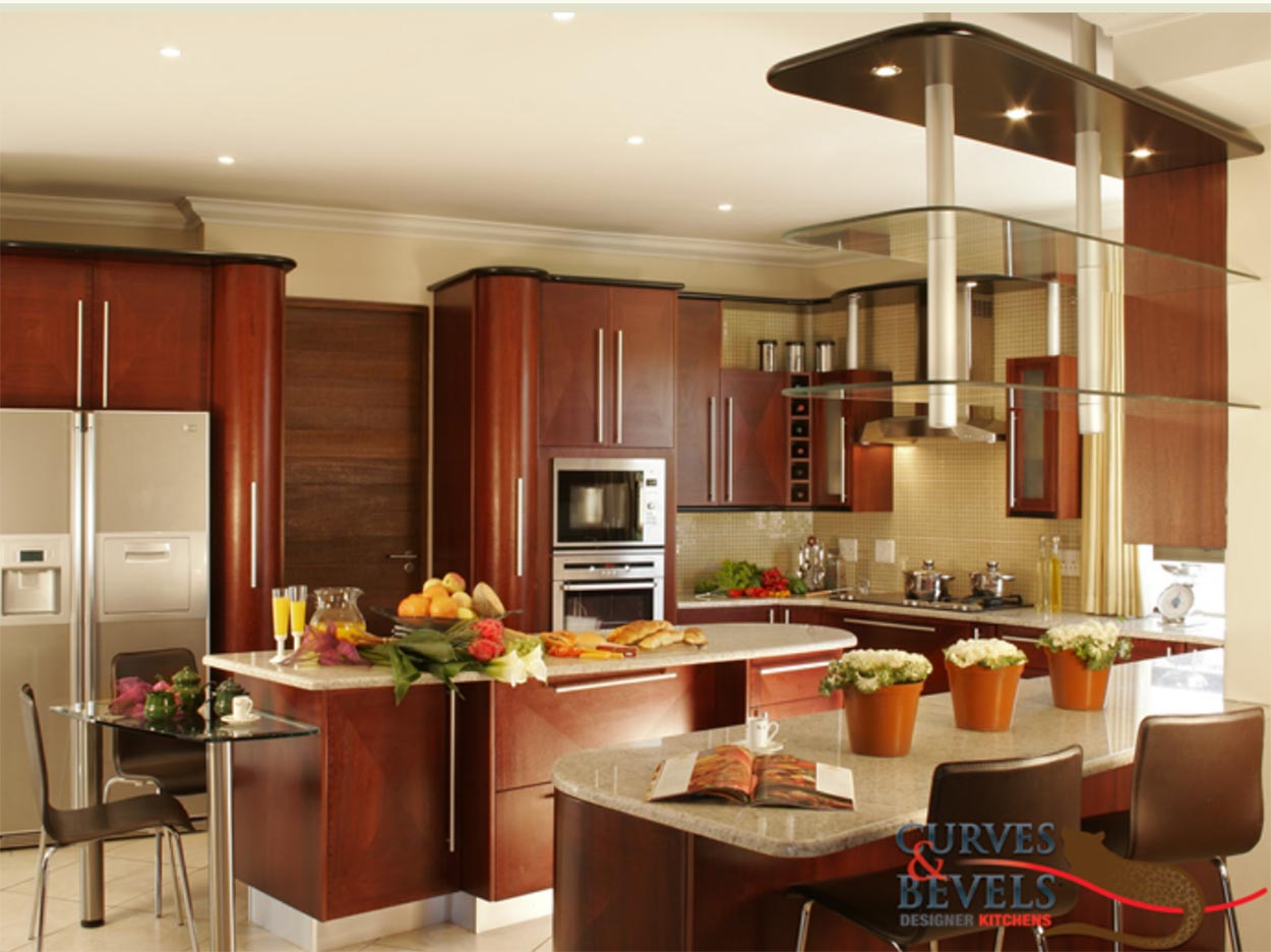 Kitchen Design Za Classic Contemporary Kitchens With Curves Bevels Sa Décor Design