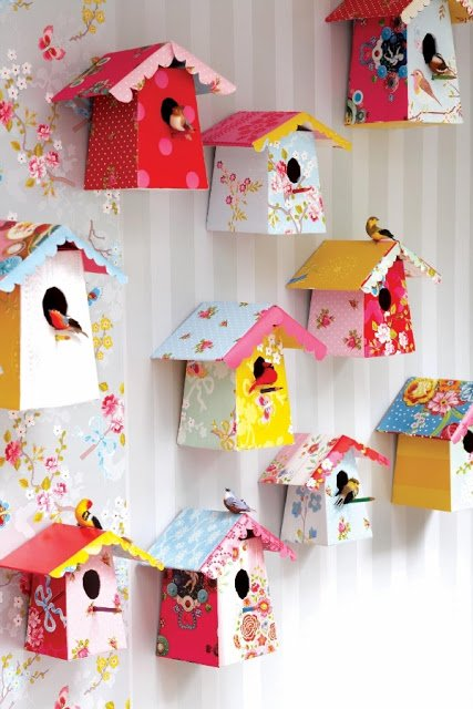 Here Are 20 Creative Paper DIY Wall Art Ideas To Add Personality - craft ideas for the home