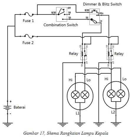 Wiring Diagram Lampu Kota Wiring Diagram M6