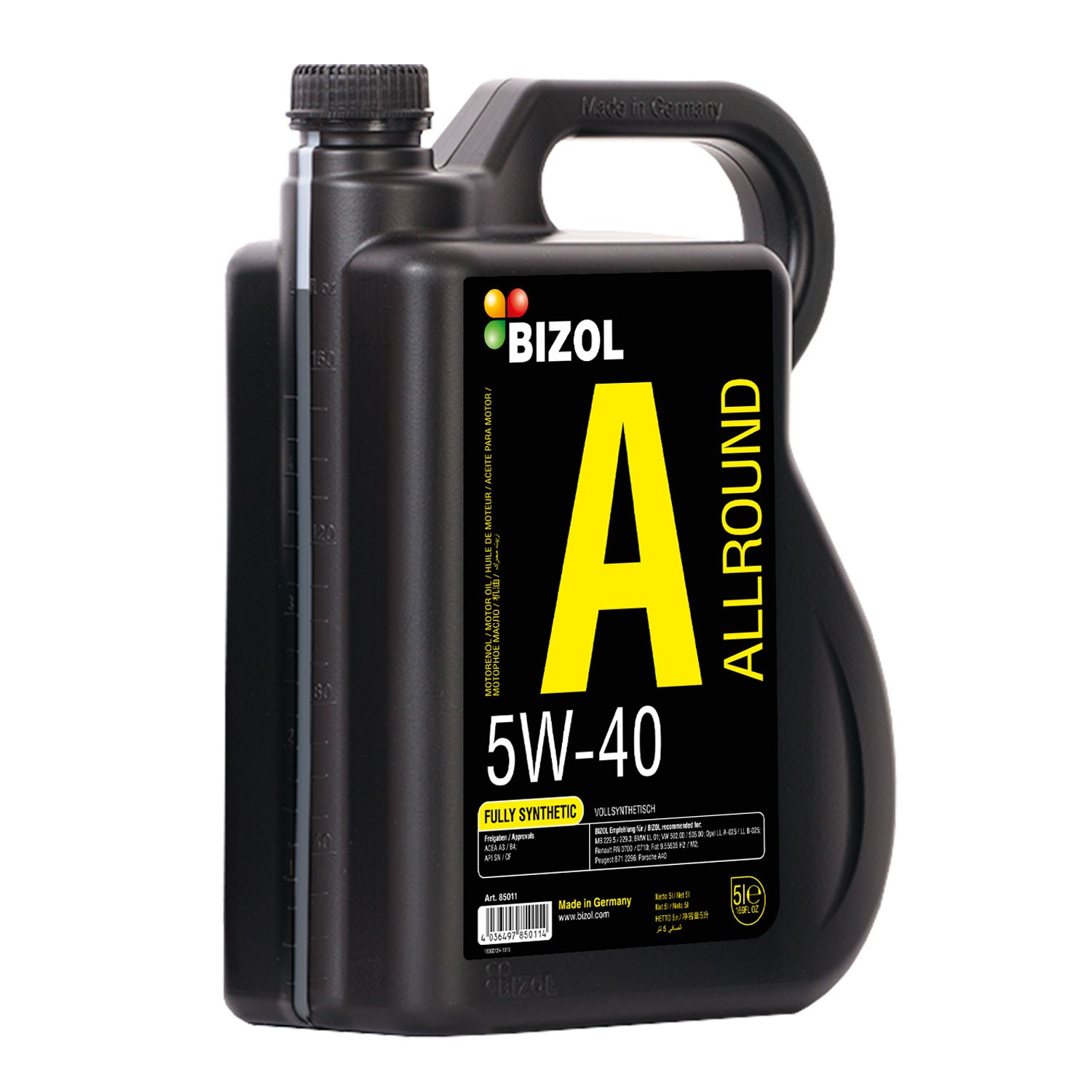 5 W 40 Bizol Allround 5w 40