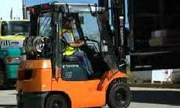 Forklift truck stability