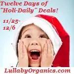 Lullaby Organics Cyber Monday Giveaway!