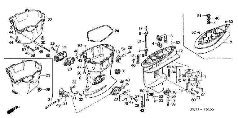 mercury 200 boat motor manual diagram