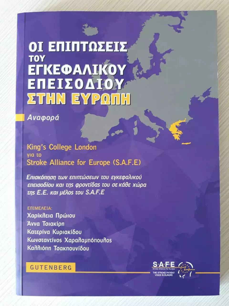 Greek Language The Burden Of Stroke In Europe Report Now In Greek Language Safe