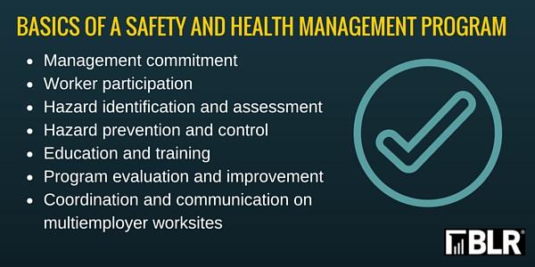 OSHA publishes draft revised safety program guidelines