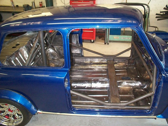 Model Mini Bar British Leyland Classic Mini Weld In Roll Cage | Safety