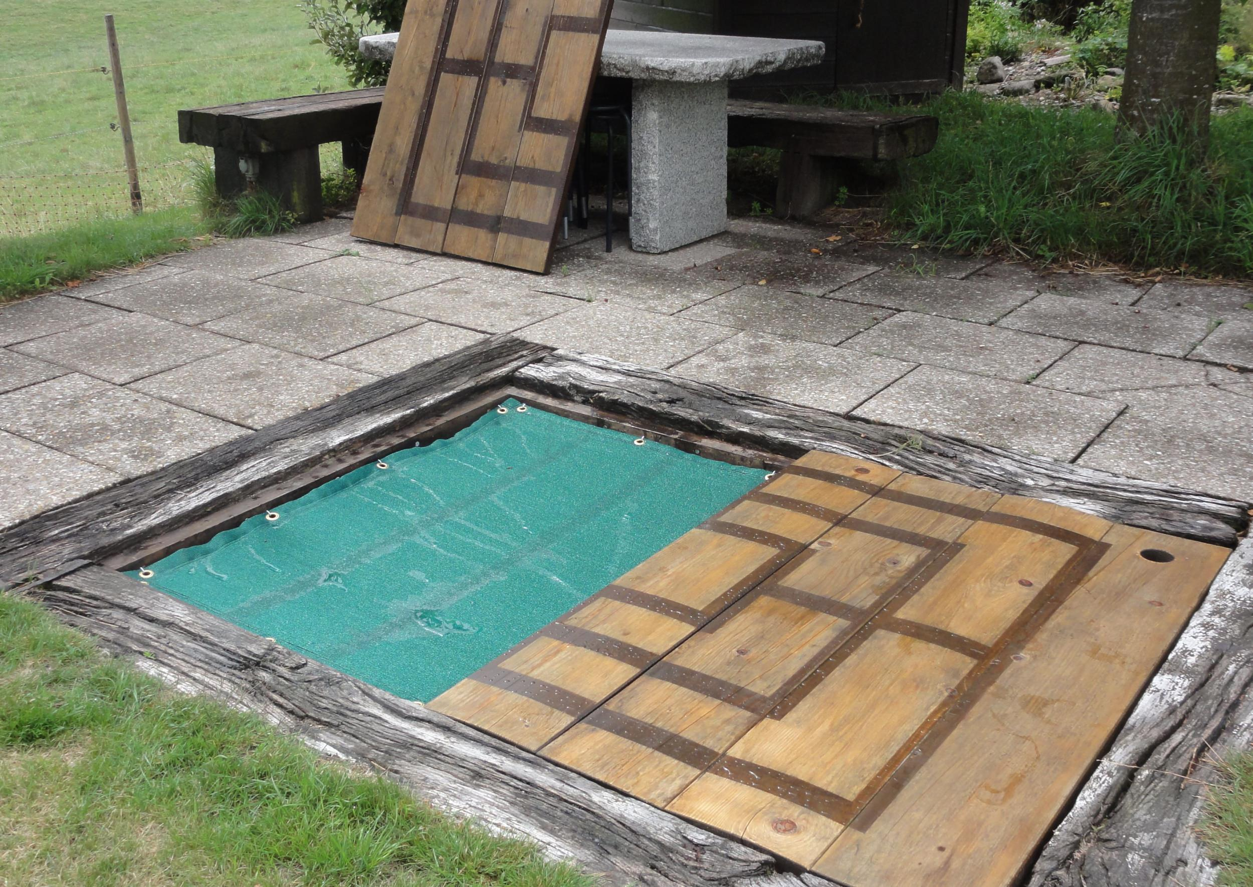 Future Pool Abdeckung Protect Air Permeable Sandbox Cover Sheet By The M² Custom Made