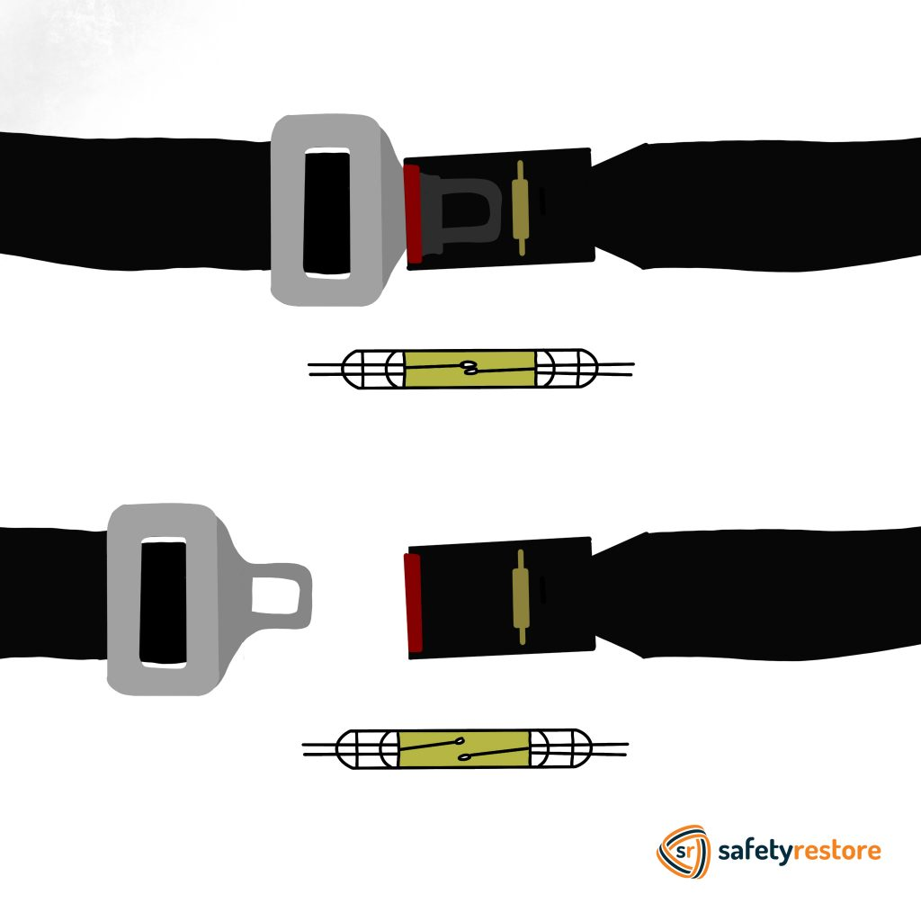 Safety Belt How Seat Belt Sensor Works Safety Restore