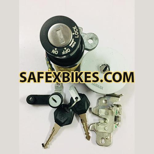 LOCK KIT FZ SET OF 3 MINDA- Motorcycle Parts For Yamaha FZ16