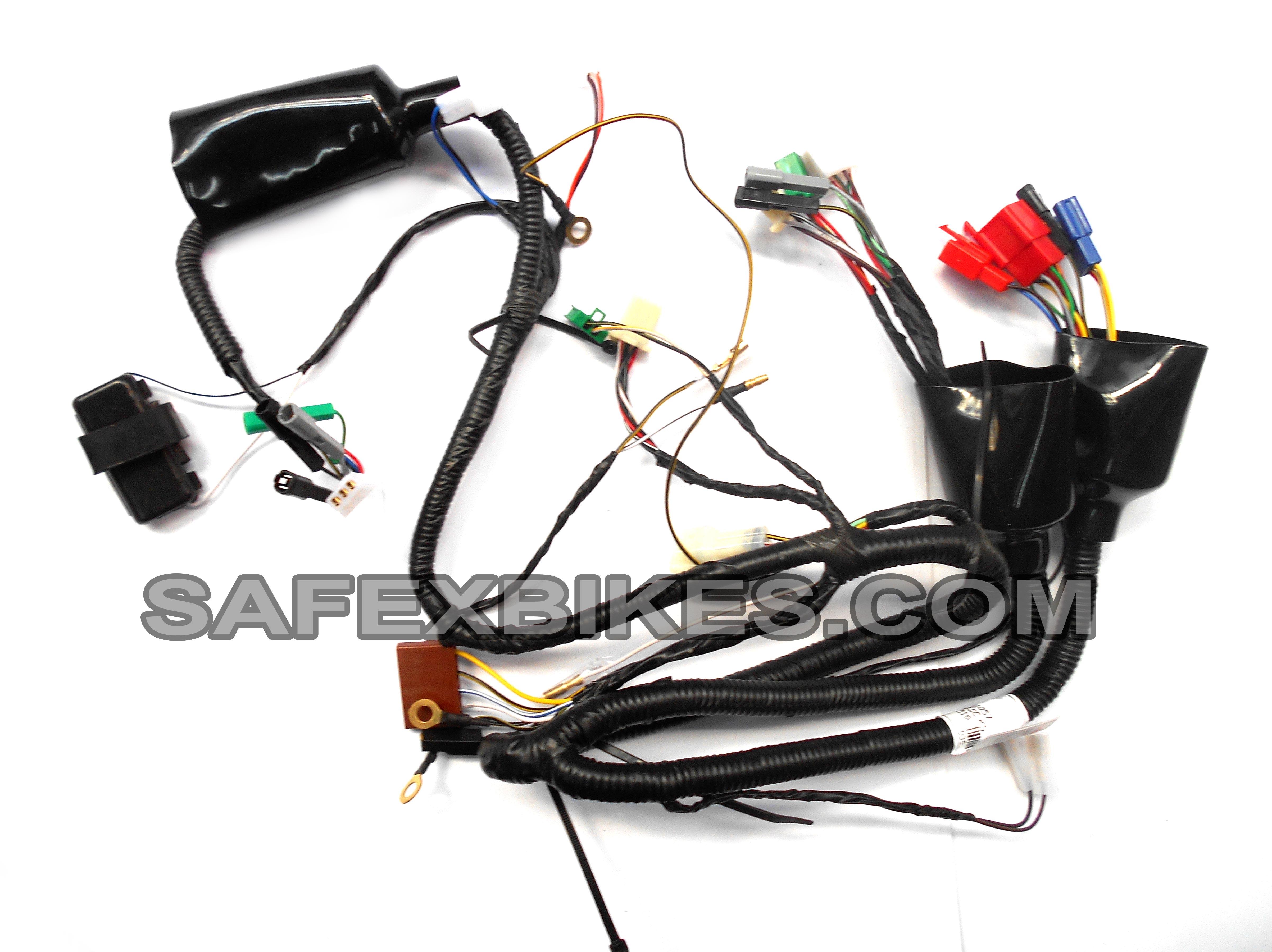 bajaj super wiring harness