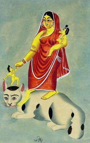 nobanchan cat goddess