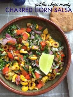 Supreme Charred Corn Salsa Vegetarian Mexican Recipes Saffron Trail Vegetarian Mexican Recipes Easy Vegetarian Mexican Recipes Rick Bayless