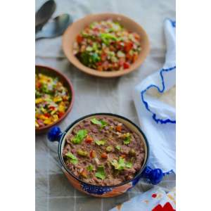 Soulful Refried Beans Refried Beans Frijoles Refritos Vegetarian Mexican Recipes Vegetarian Mexican Recipes By Tarla Dalal Vegetarian Mexican Recipes Indian