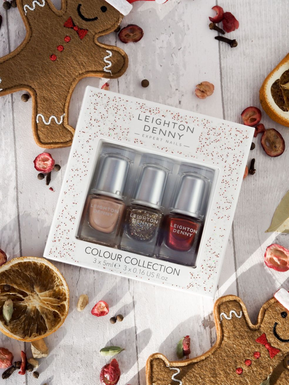 leighton denny polish set