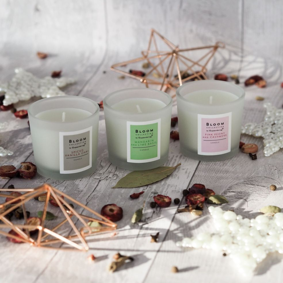 bloom candle trio superdrug