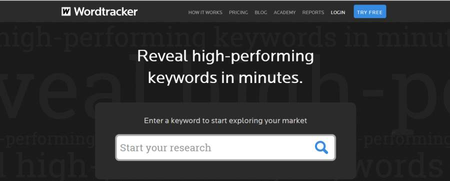 wordtracker keyword tool