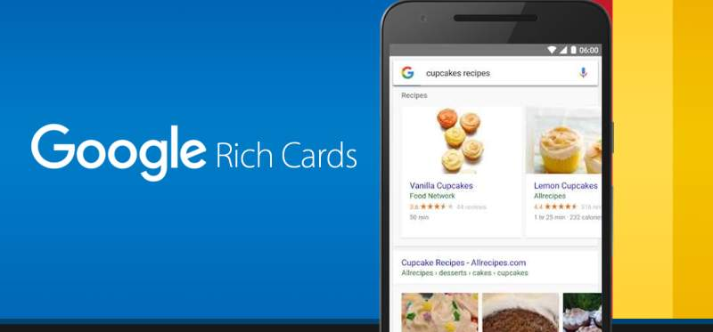 Rich Cards in Google Webmaster
