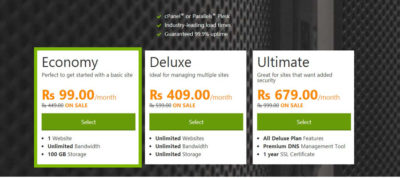 Godaddy Web Hosting in India