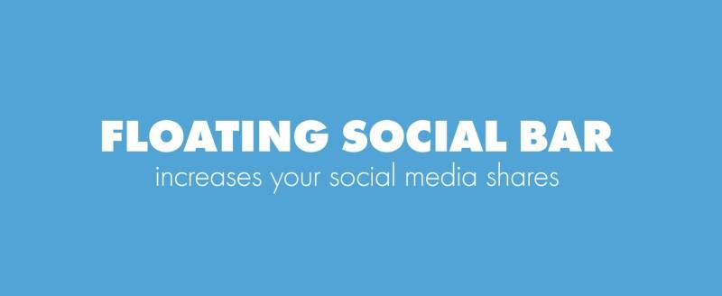 Floating Social Bar Plugin