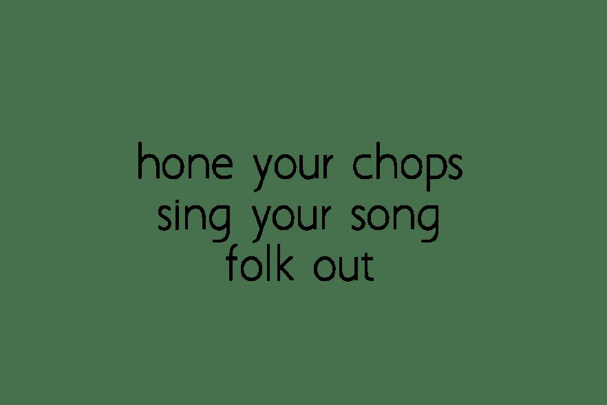 bosque song school - sage harrington
