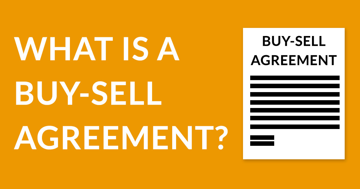 What is a Buy-Sell Agreement? \u2013 Sage International, Inc