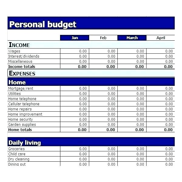 Personal finance budgeting Personal Financial Planning and Analysis