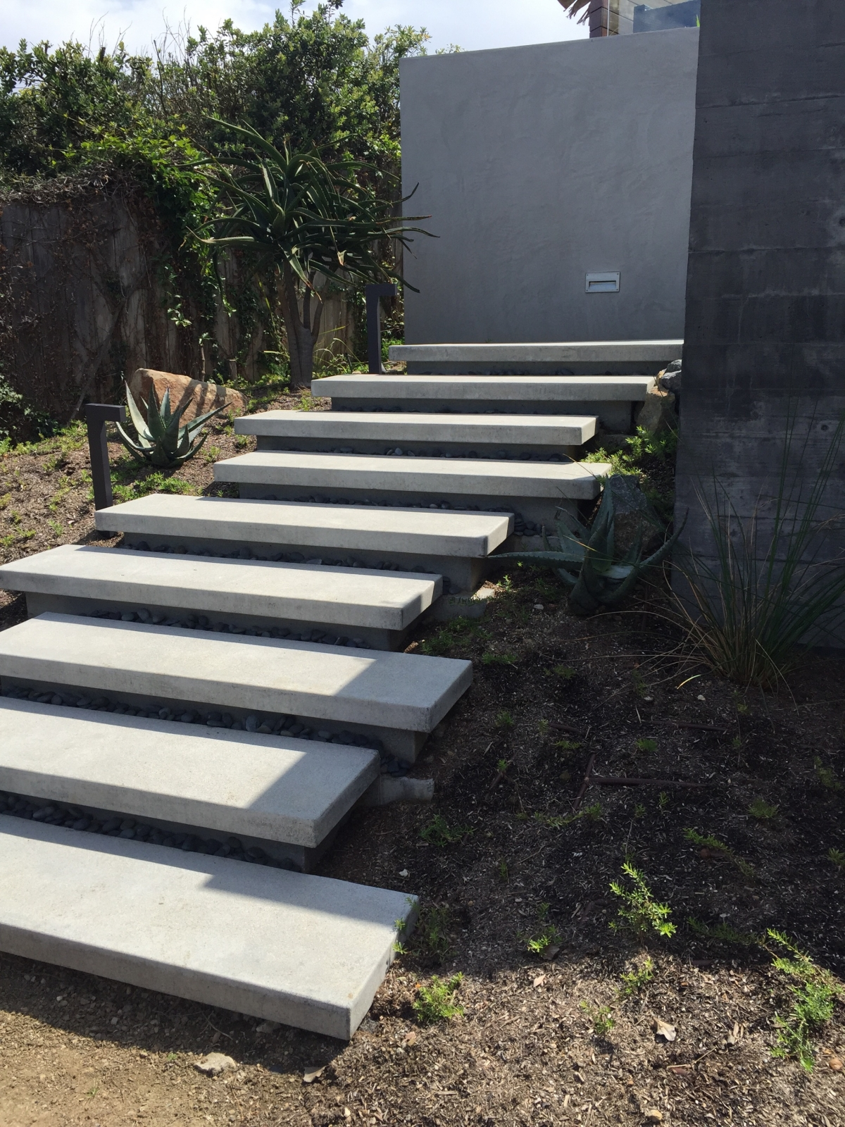 How To Build Floating Stairs Floating Stairs Sage Outdoor Designs