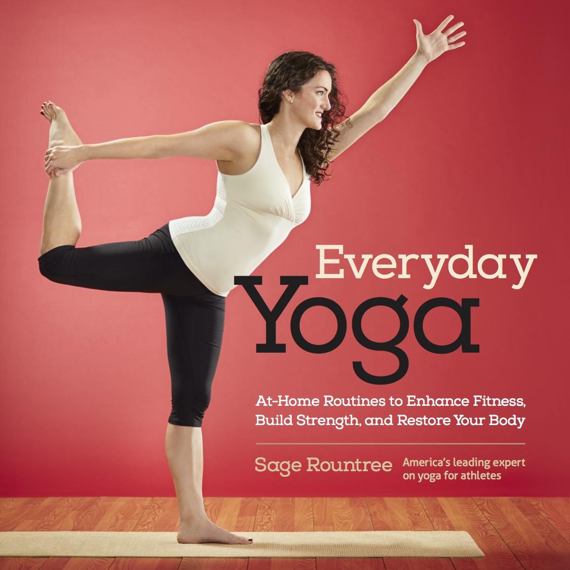 Simple Book Cover Yoga ~ Everyday yoga sage rountreesage rountree