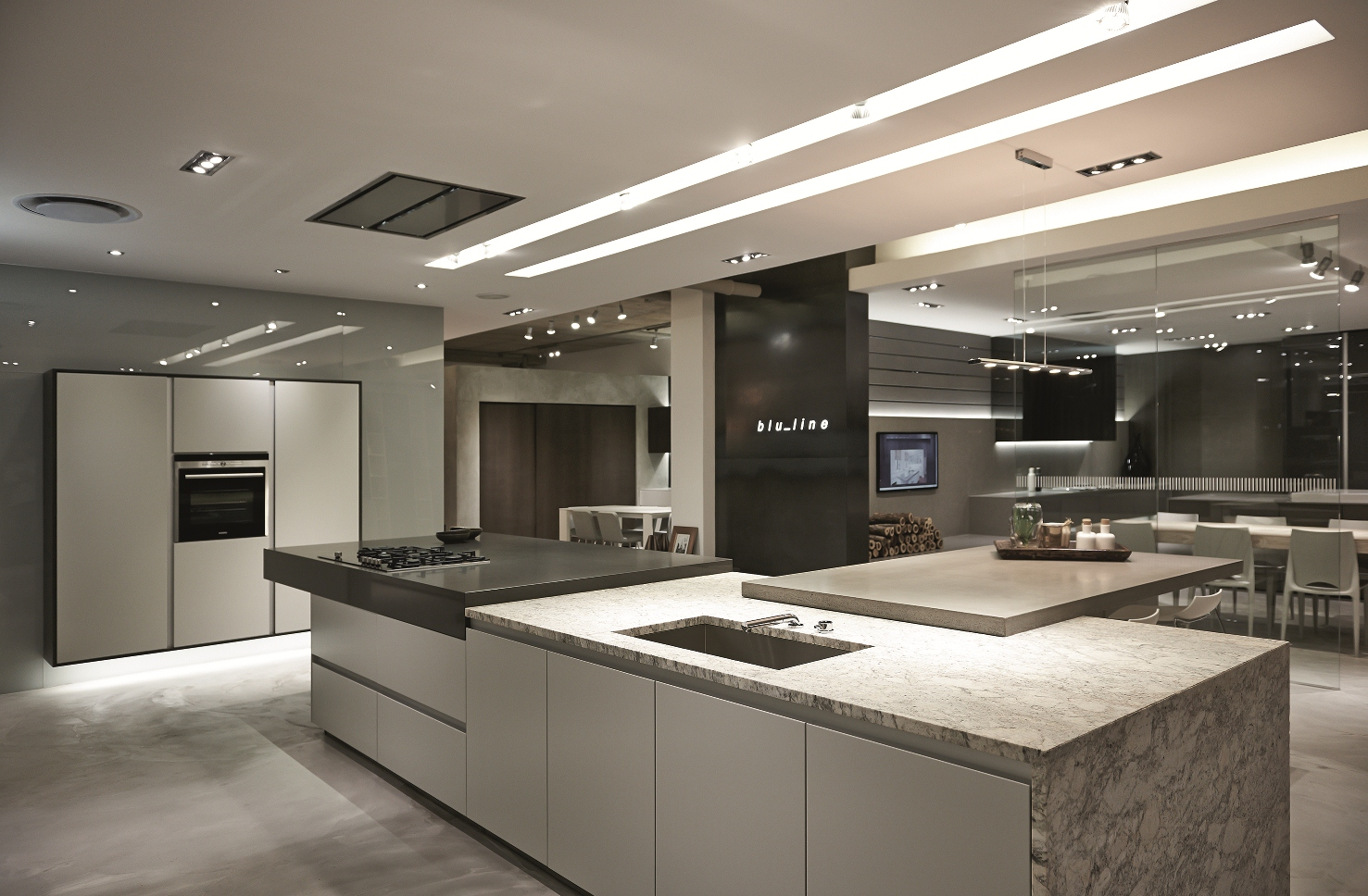 Kitchen Design Za New Blu Line Showroom At Design Quarter