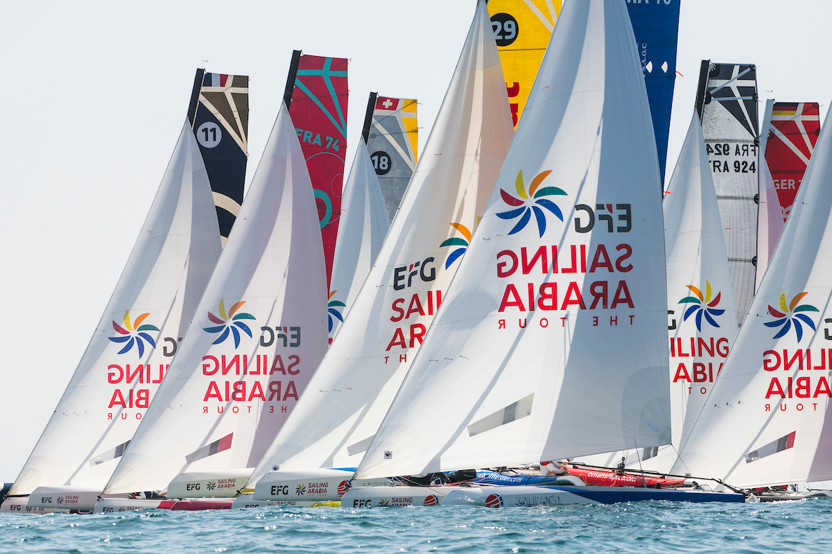 Beijaflore Crowned Efg Sailing Arabia The Tour Champions For A Second Year In Succession Sailing Arabia The Tour
