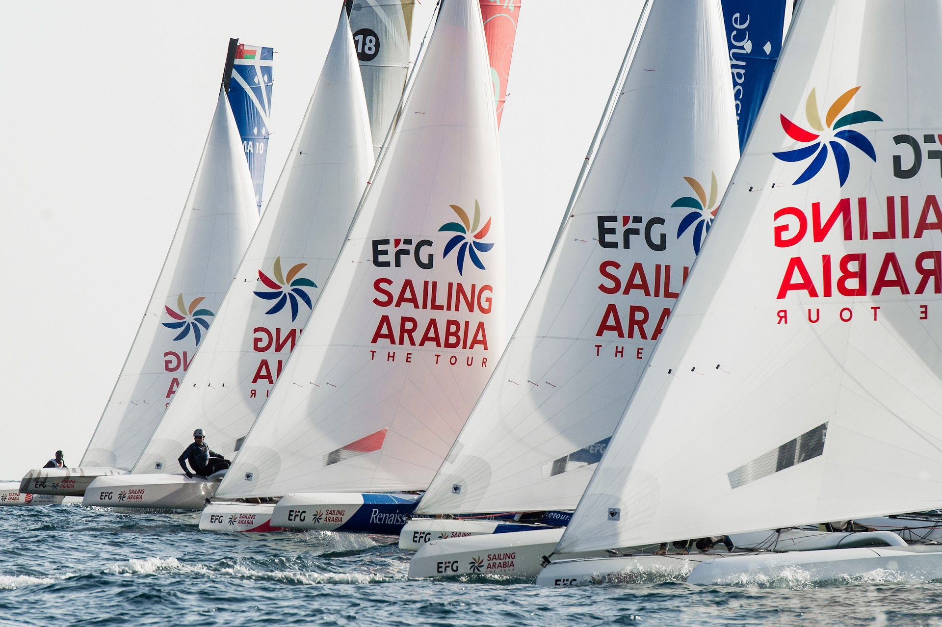 Beijaflore On The Brink Of Victory Ahead Of Efg Sailing Arabia The Tour S Finale Sailing Arabia The Tour