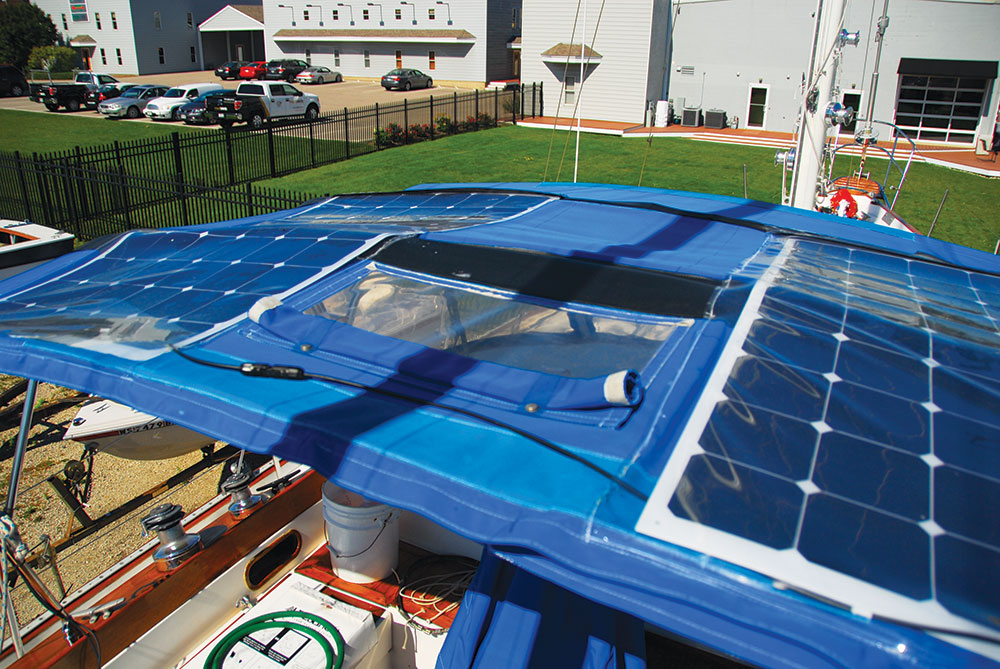 Installing solar and wind power on your boat