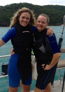 Best bud Emer flew up from Sydney for a few days aboard the mighty LUSH!