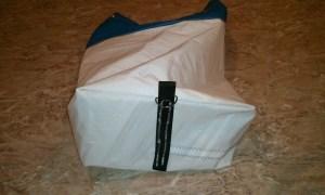 Duffel sail bag step 10