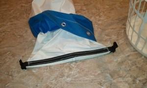 Duffel sail bag step 8