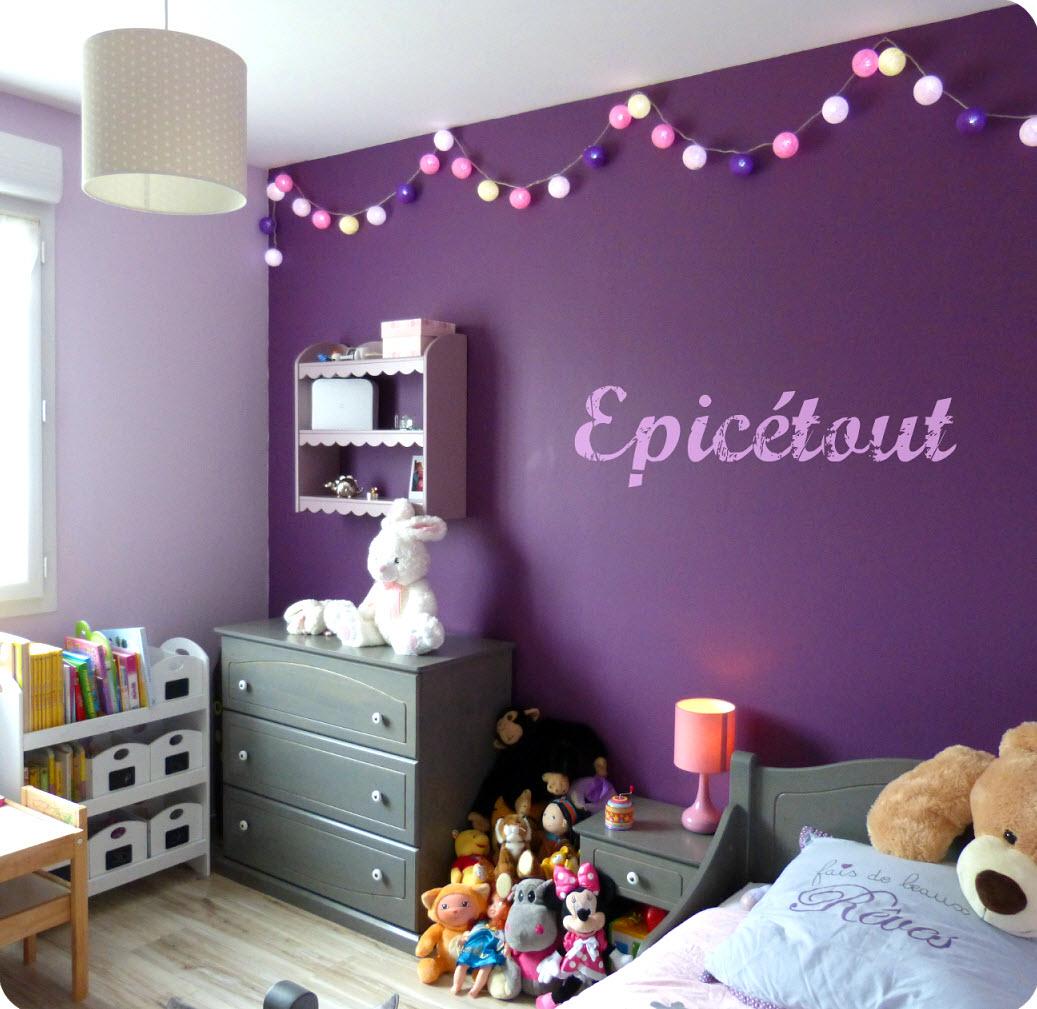 Chambre Violet Et Gris   Chambre Bebe Beige Et Mauve Meilleur Id Es ...