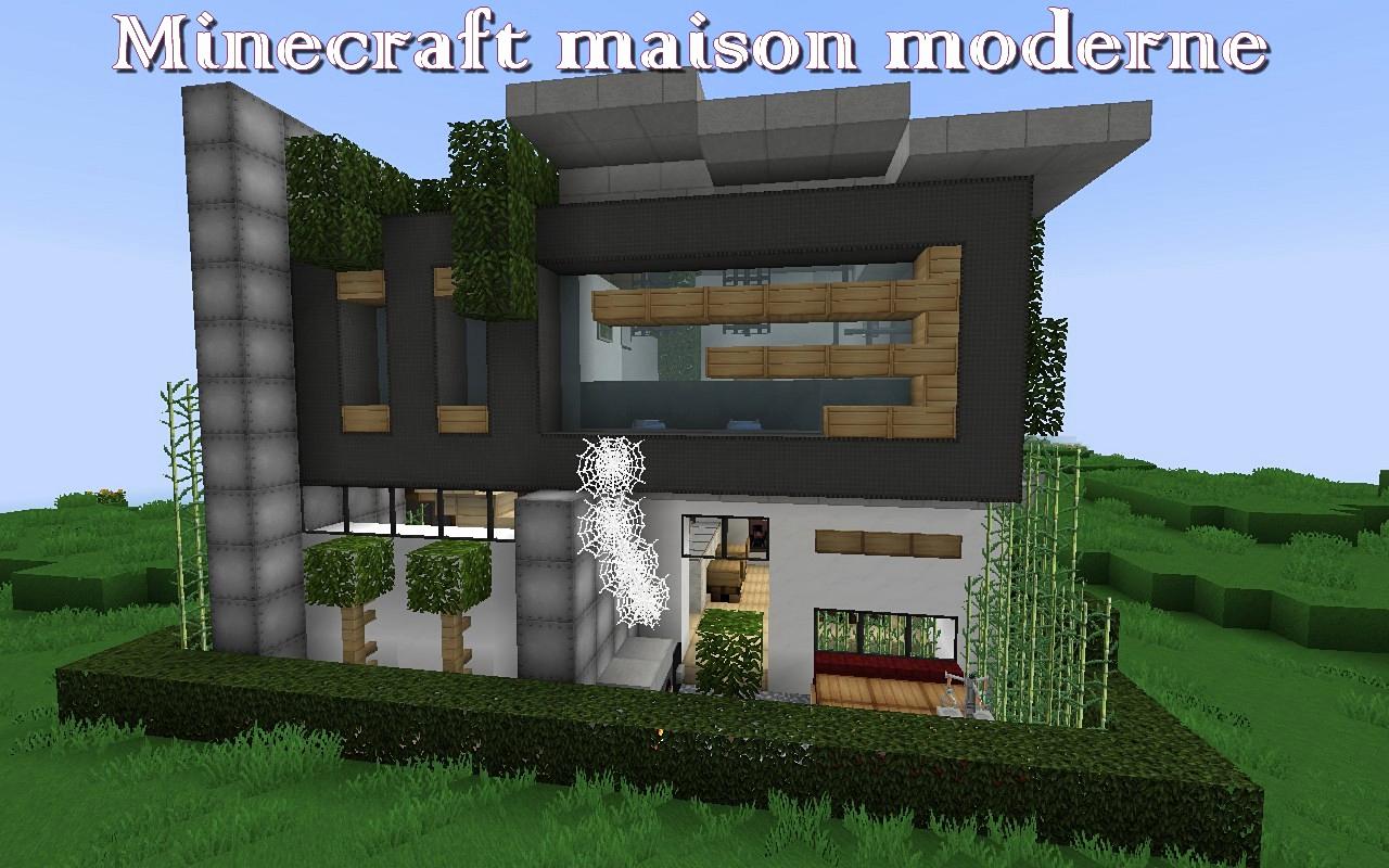 Maison Chalet Minecraft