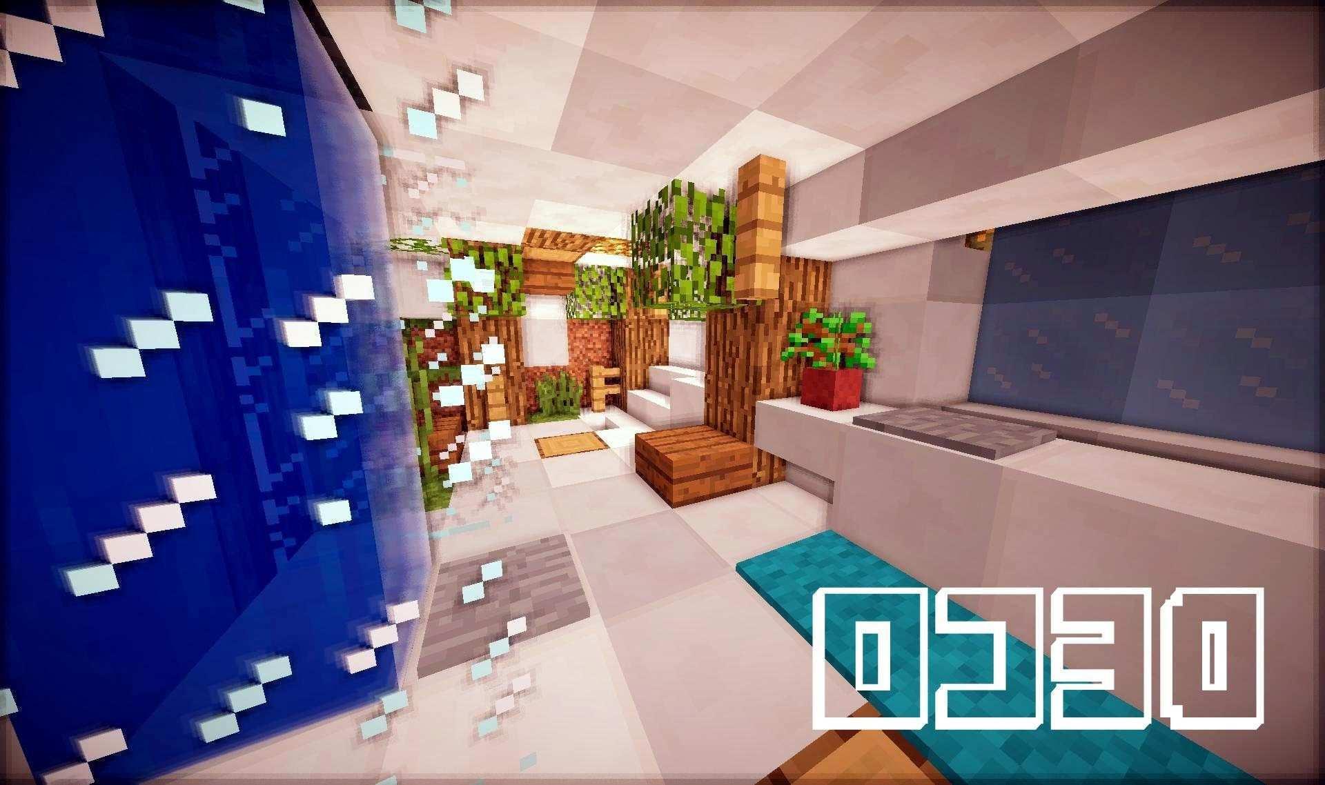 Décoration Intérieur Minecraft | Deco Interieur Moderne Minecraft