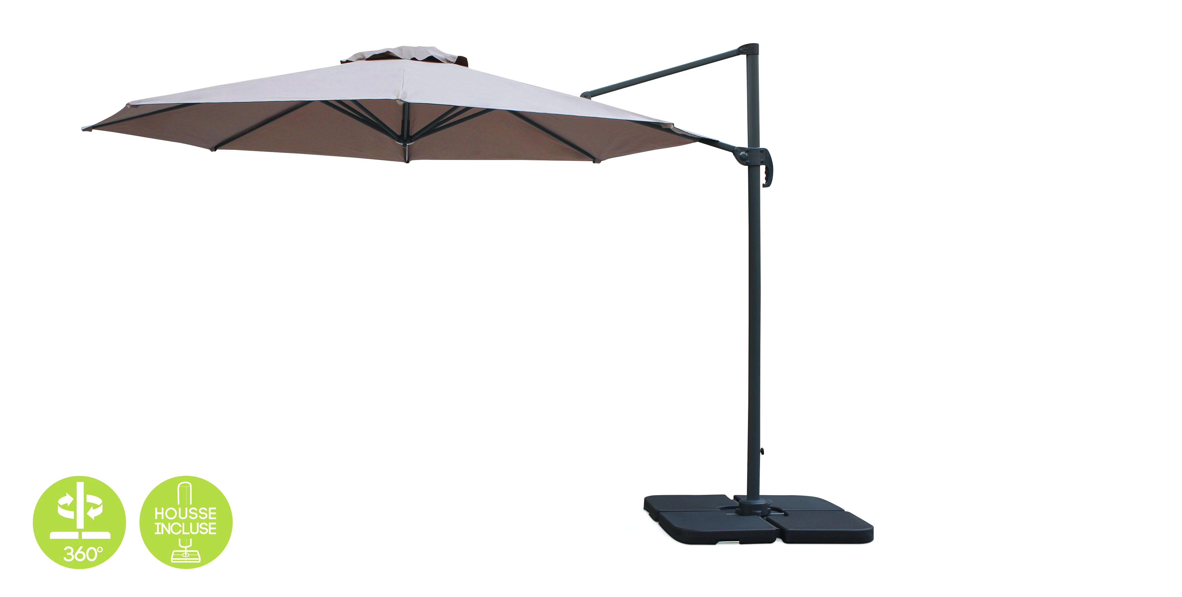 Castorama Parasol Parasol Rectangulaire Inclinable Castorama Beau Photos Parasol