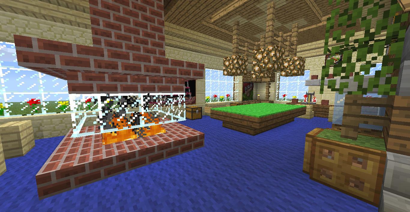 Salle De Bain Moderne Minecraft   Minecraft Plan De Construction ...