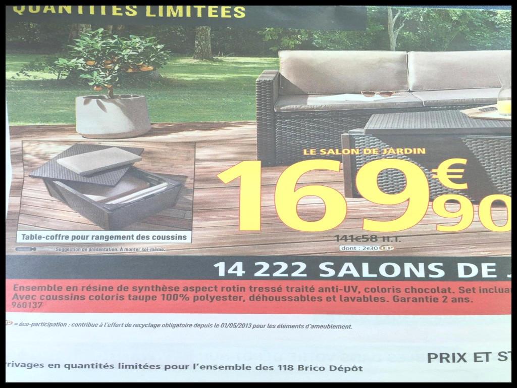 Brico Depot Salon De Jardin En Resine   Incroyable Salon De Jardin ...