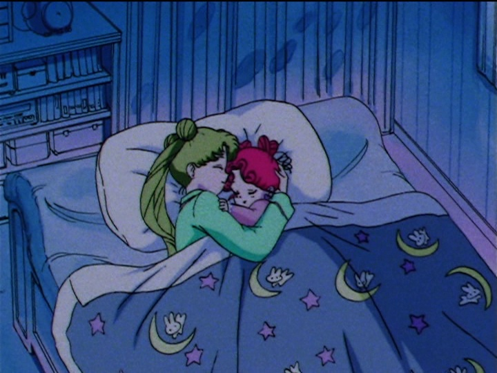 Cute Garnet Wallpaper Sailor Moon Sailor Stars Episode 182 Usagi And Chibi