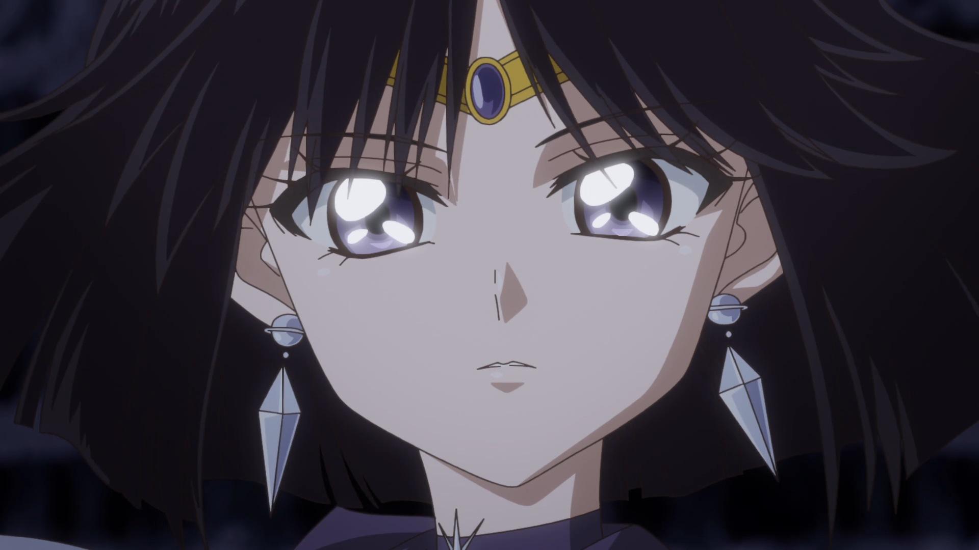 Pretty Anime Girl Wallpaper Sailor Moon Crystal Act 37 Sailor Saturn Sailor Moon News