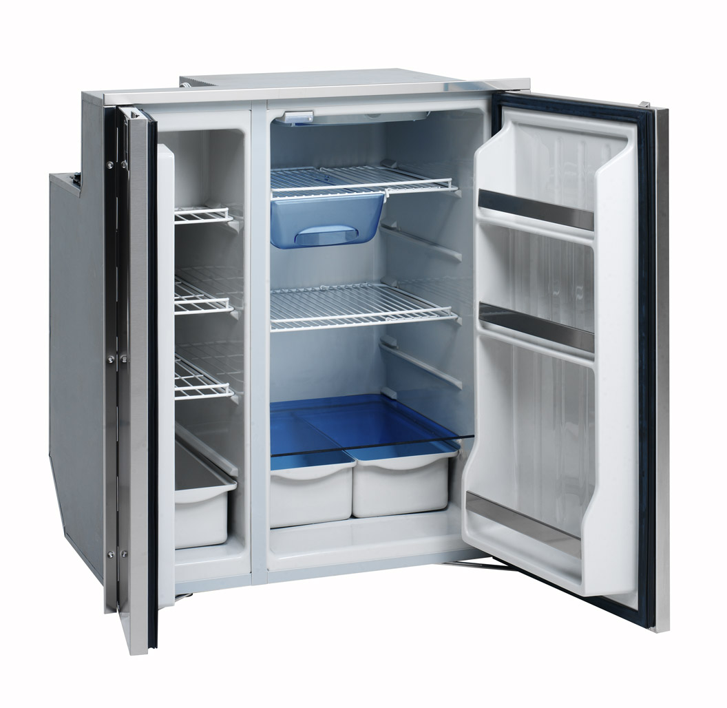 Side By Side Fridge Isotherm Cruise 200 All Stainless Steel Side By Side