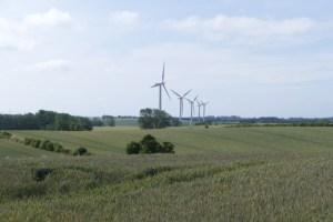 Samsø wind turbines