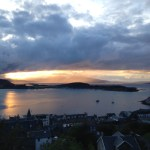 Evening view from Oban