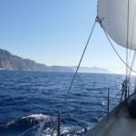 Sailing along the Calanques